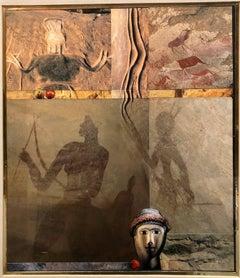 Pop Art Modernist Collage Painting GENESIS Patrick Archer