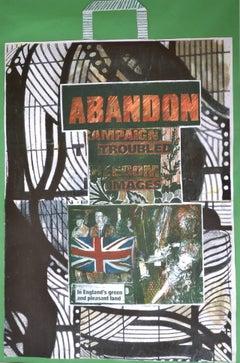 Abandon IV, Green and Pleasant Land:  Contemporary Mixed Media