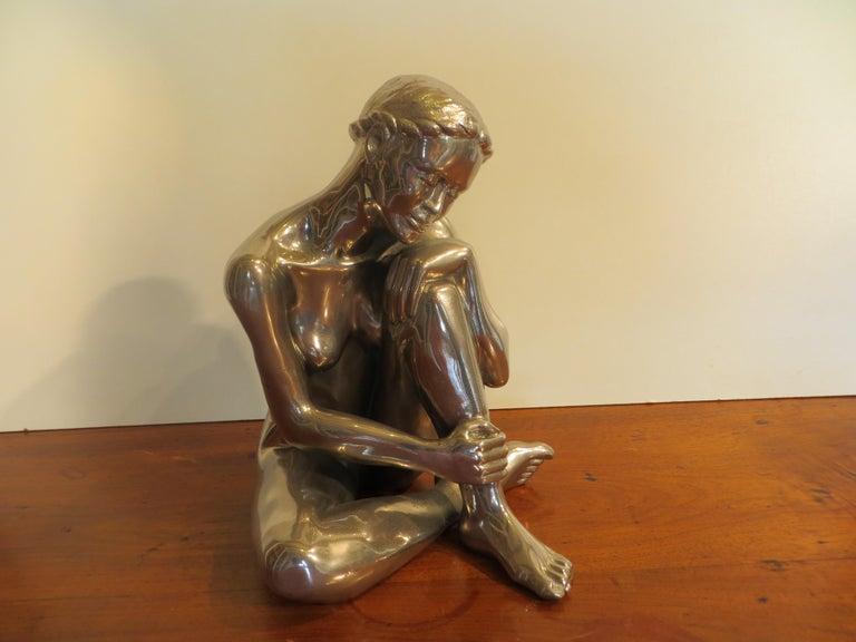 Bahia - Sculpture by Patrick Brun