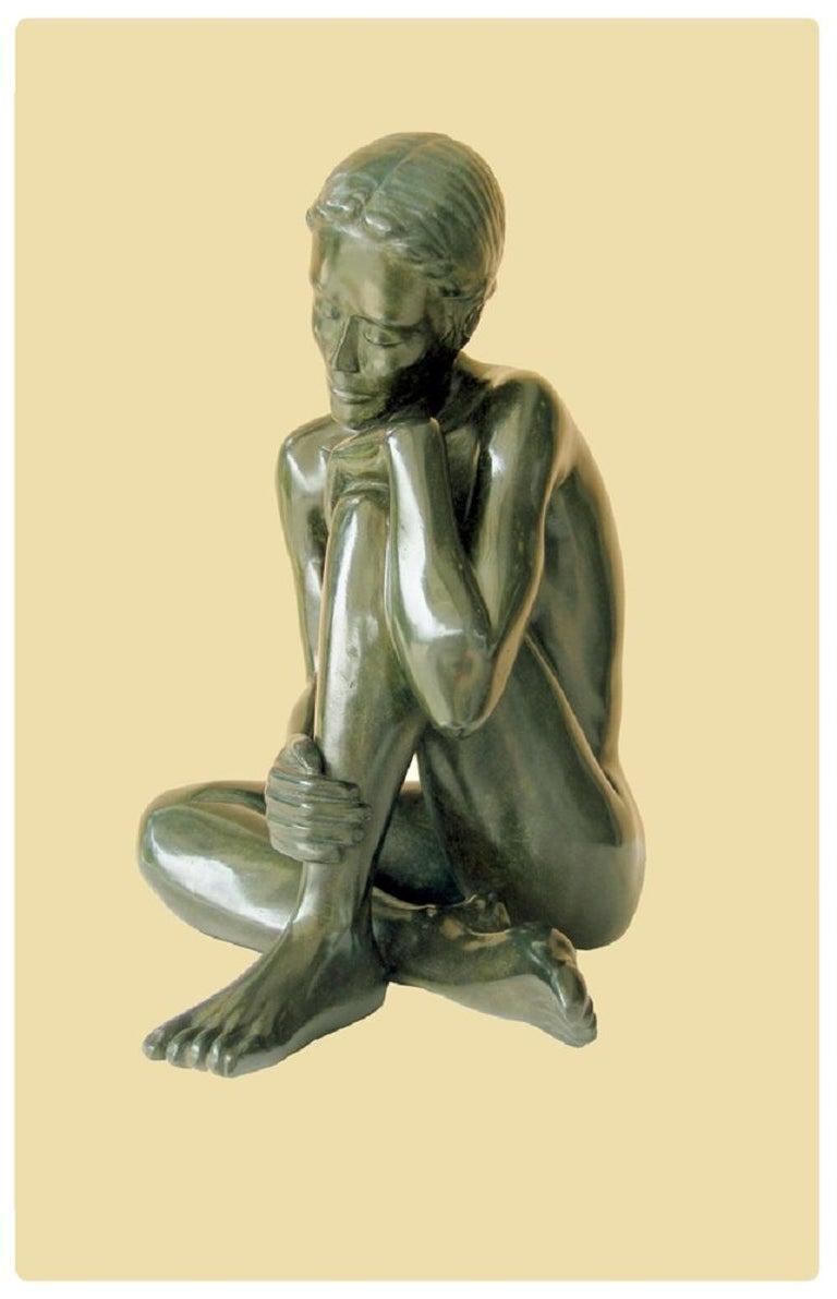 Patrick Brun Figurative Sculpture - Bahia