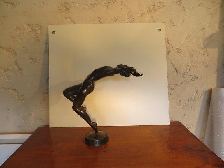 La Dance - Sculpture by Patrick Brun