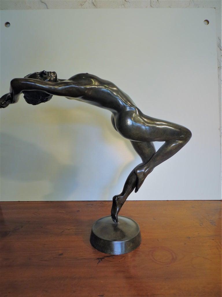 Patrick Brun Nude Sculpture - La Dance