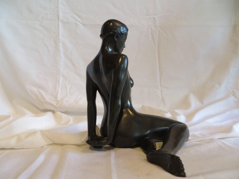 Menoca - Post-Modern Sculpture by Patrick Brun