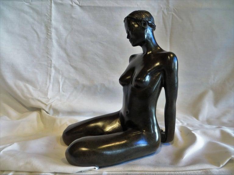 Patrick Brun Figurative Sculpture - Menoca