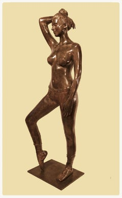 Poiting Dancer by Patrick Brun