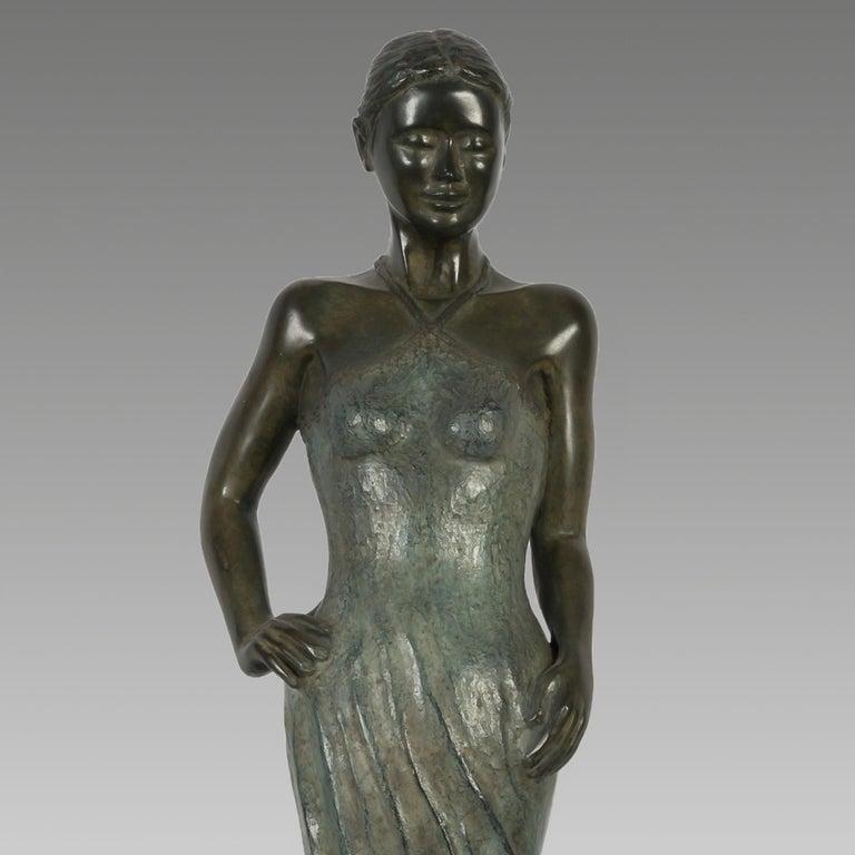Sabine Bronze by Patrick Brun For Sale 3