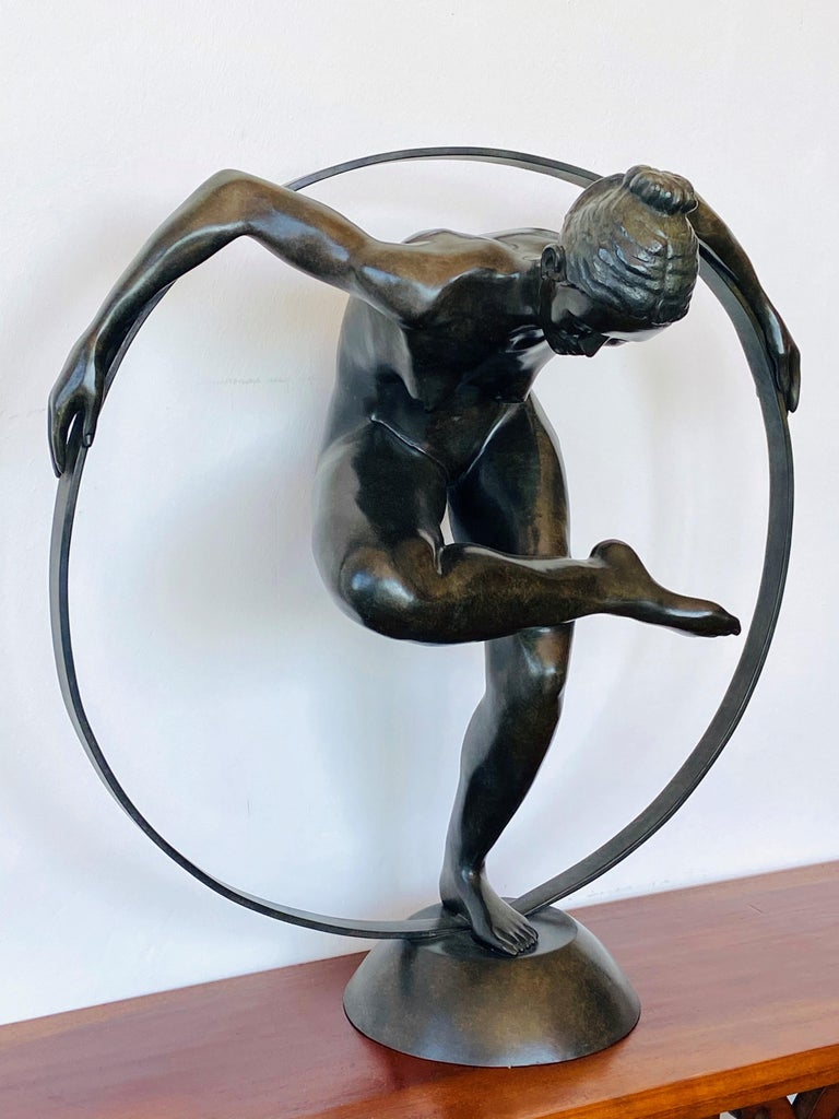 Taking Off - Sculpture by Patrick Brun