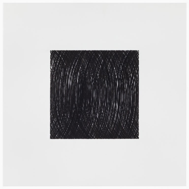 Patrick Carrara Black Ink on Mylar Drawings, Appearance Series, 2013-2015 For Sale 3