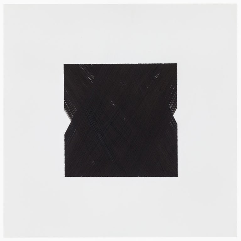 American Patrick Carrara Black Ink on Mylar Drawings, Appearance Series, 2013-2015 For Sale