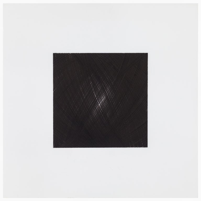 Patrick Carrara Black Ink on Mylar Drawings, Appearance Series, 2013-2015 In Excellent Condition For Sale In New York, NY