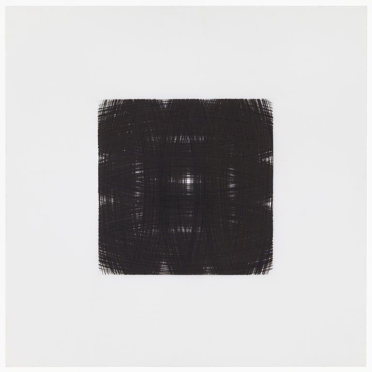 Contemporary Patrick Carrara Black Ink on Mylar Drawings, Appearance Series, 2013-2015 For Sale