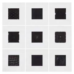 Patrick Carrara Black Ink on Mylar Drawings, Appearance Series, 2013-2015