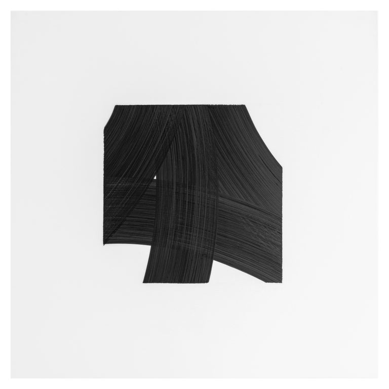 Patrick Carrara Black Ink on Mylar Drawings, Appearance Series, 2016-2017 For Sale 3