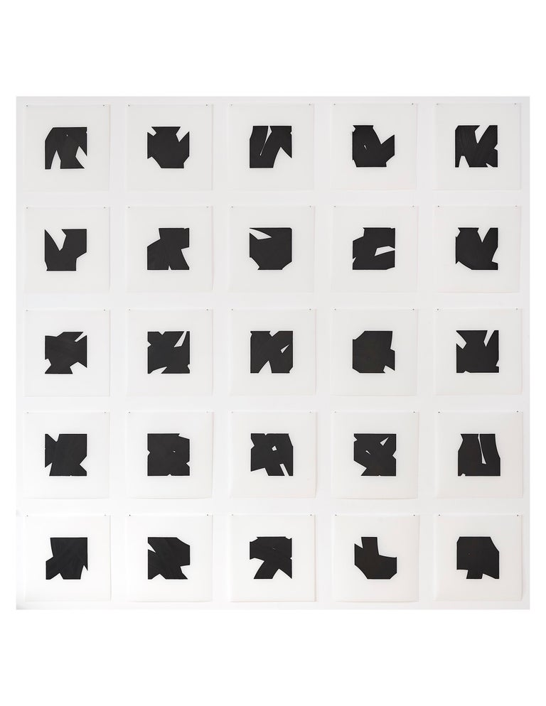 Patrick Carrara Black Ink on Mylar Drawings, Appearance Series, 2016 - 2017 For Sale 5