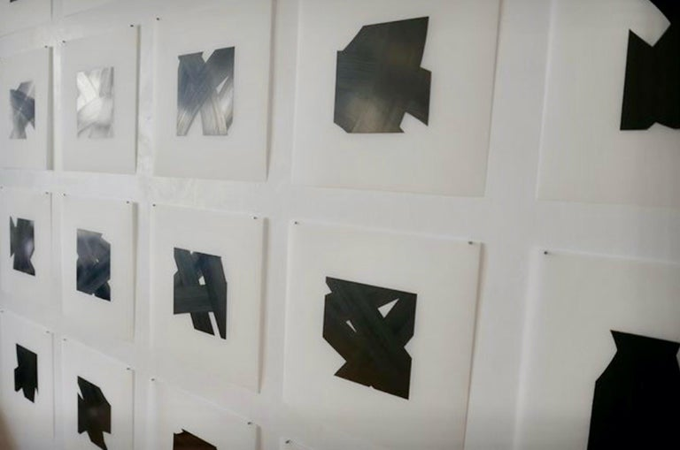Patrick Carrara Black Ink on Mylar Drawings, Appearance Series, 2016 - 2017 For Sale 6