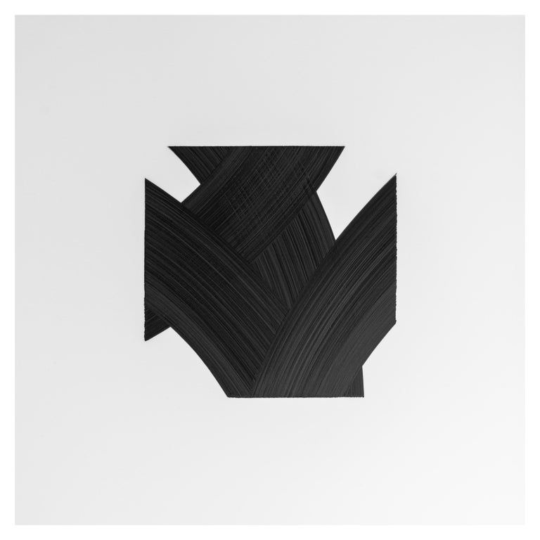 Modern Patrick Carrara Black Ink on Mylar Drawings, Appearance Series, 2016 - 2017 For Sale