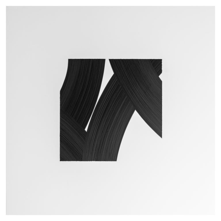 American Patrick Carrara Black Ink on Mylar Drawings, Appearance Series, 2016 - 2017 For Sale