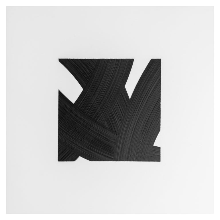 Patrick Carrara Black Ink on Mylar Drawings, Appearance Series, 2016-2017 In Excellent Condition For Sale In New York, NY