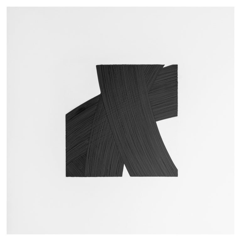 Patrick Carrara Black Ink on Mylar Drawings, Appearance Series, 2016 - 2017 In Excellent Condition For Sale In New York, NY