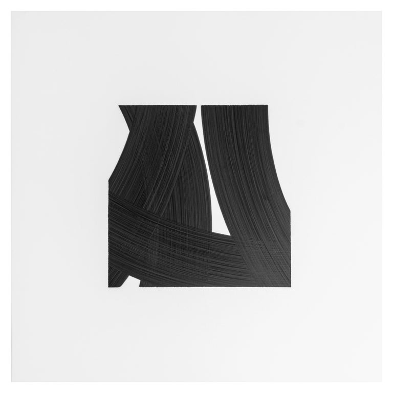 Patrick Carrara Black Ink on Mylar Drawings, Appearance Series, 2016-2017 For Sale 1