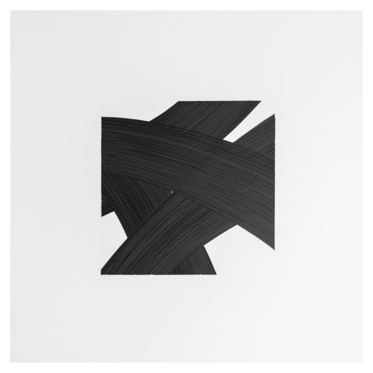 Patrick Carrara Black Ink on Mylar Drawings, Appearance Series, 2016 - 2017 For Sale 1