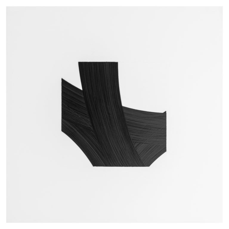 Patrick Carrara Black Ink on Mylar Drawings, Appearance Series, 2016-2017 For Sale 2