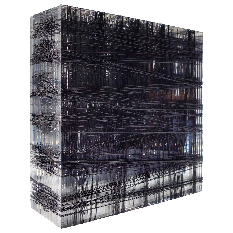 Patrick Carrara Plexiglass Sculpture #10, 400-600 YDS Series, 2014