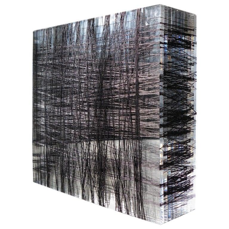 Patrick Carrara Plexiglass Sculpture #5, 400-600 YDS Series, 2014 For Sale
