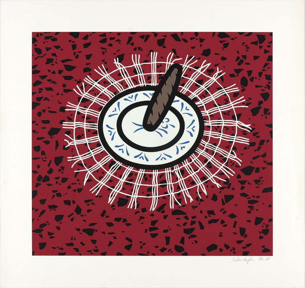 Cigar - Pop Art, Screenprint, Contemporary Art, Still Life, Caulfield