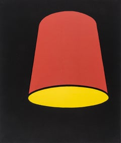 Lampshade -- Screen Print, Still Life, Pop Art by Patrick Caulfield