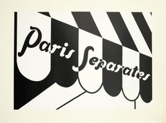 Patrick Caulfield, Paris Separates, screenprint, 1974
