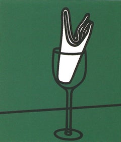 Son mouchoir me flattait sur le Rhin - 20th Century, Patrick Caulfield, Print