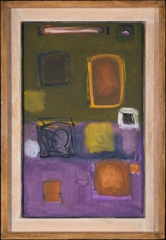 November 58 - 20th Century, Oil on paper by Patrick Heron