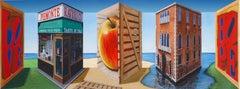 Patrick Hughes - Collection, contemporary, op art, optical, reverspective