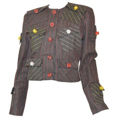 Patrick Kelly Vintage Jacket with Dice