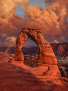 """""""Delicate Arch no. 3"""" Oil Painting"""