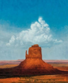 """Heaven and Earth (Monument Valley)"" Oil Painting"