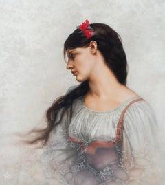 """Lefebvre's Graziella,"" Oil Painting"