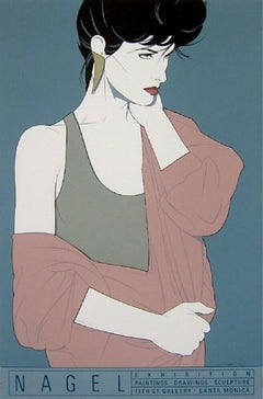 Commemorative #10, Limited Edition Silkscreen, Patrick Nagel - Screen-signed