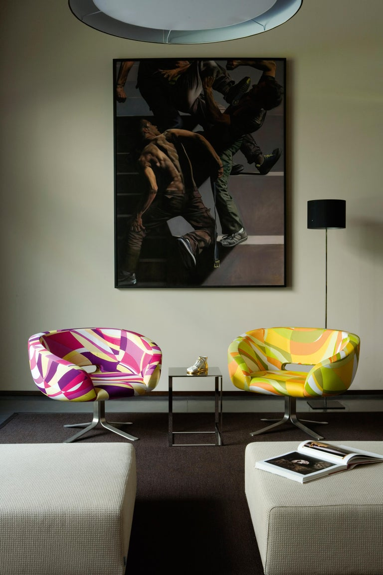 Patrick Norguet Rive Droite in Pucci Upholstery Fabrics for Cappellini In New Condition For Sale In New York, NY