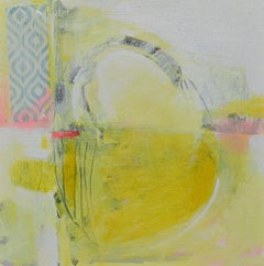 The Yellow Sun, Abstract Painting