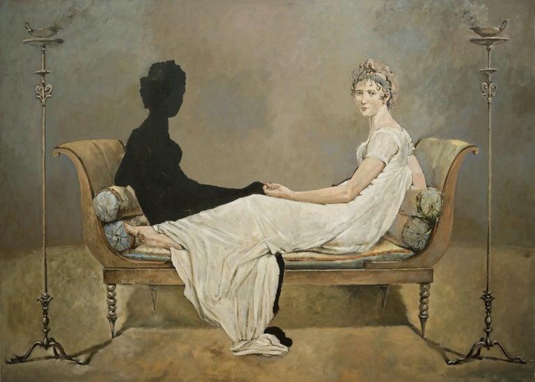 Conversation - Painting by Patrick Pietropoli