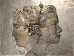 Silver Portrait Paintings
