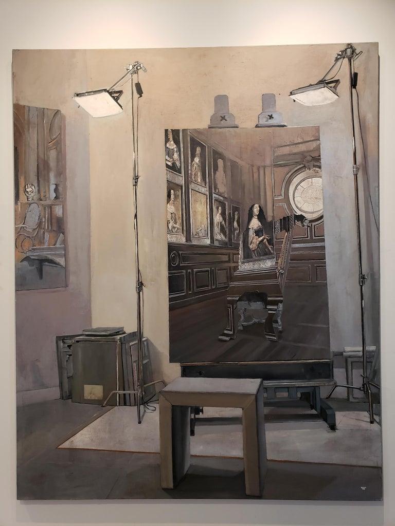 La Favorite - Modern Painting by Patrick Pietropoli