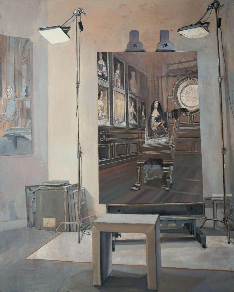 La Favorite - Painting by Patrick Pietropoli