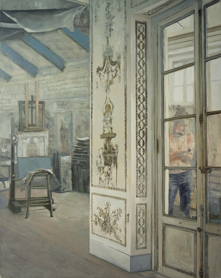 La Pose - Painting by Patrick Pietropoli