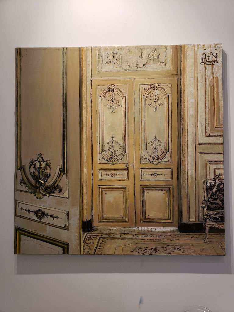 Salon - Modern Painting by Patrick Pietropoli