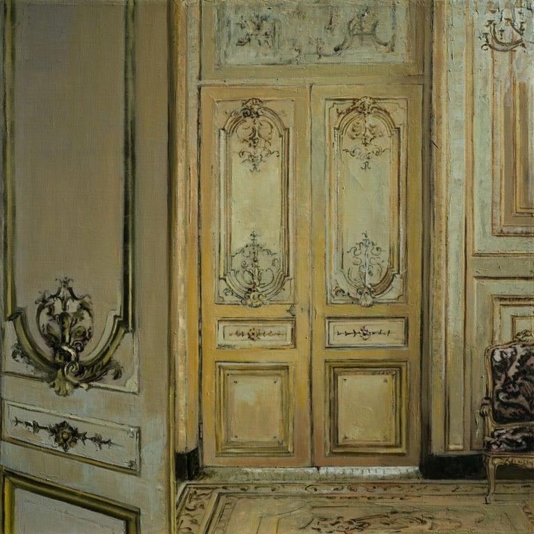 Salon - Painting by Patrick Pietropoli