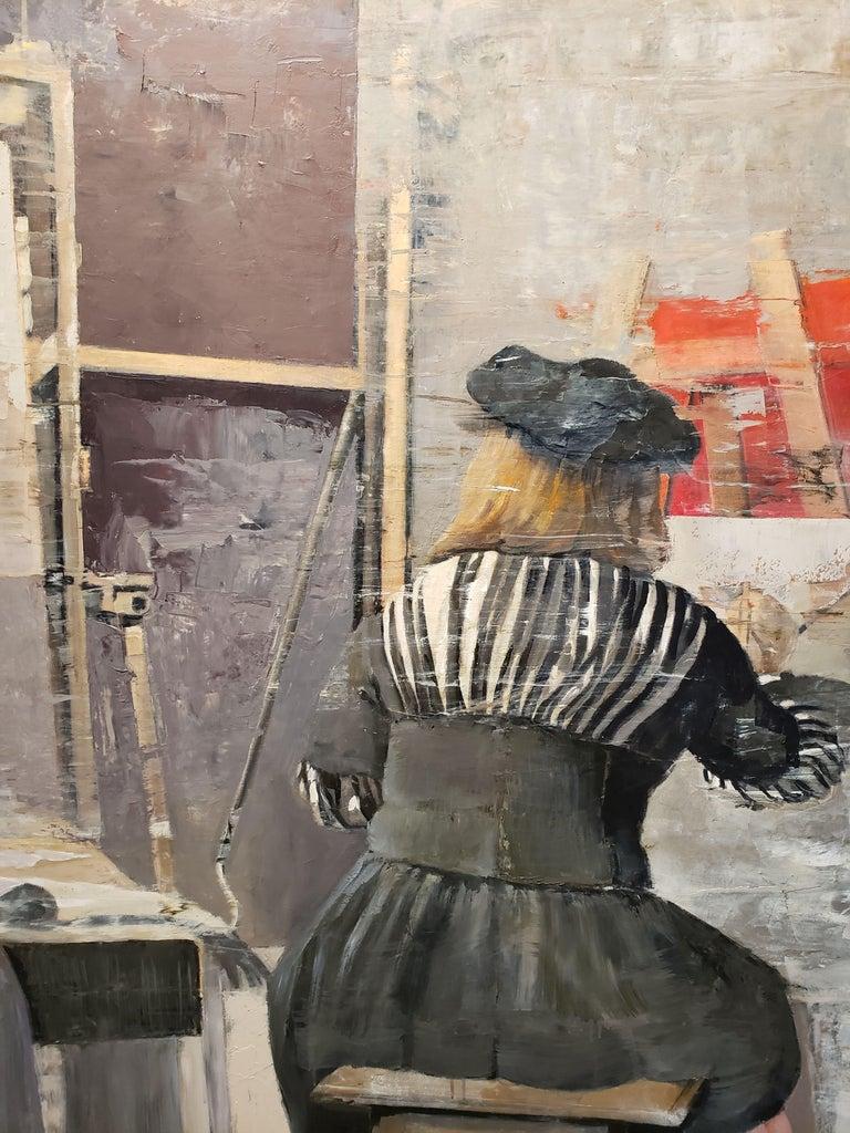 Vermeer at work For Sale 2