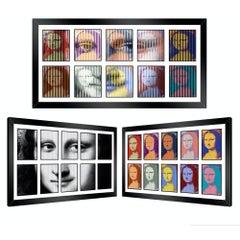Multiple Mona!, Kinetic - Mixed Media